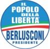 Simbolo della lista Il Popolo della LIberta' - Berlusconi Presidente