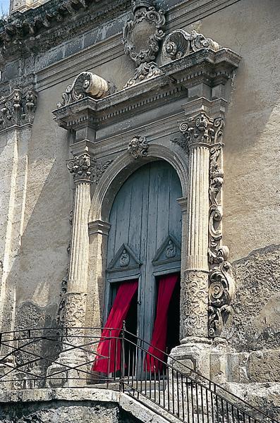 Foto della facciata della Chiesa del Purgatorio