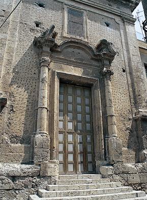 Foto della facciata della Chiesa del Collegio di Maria