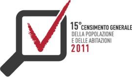 Logo del censimento della popolazione 2011
