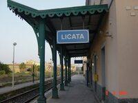 Foto della Stazione di Licata